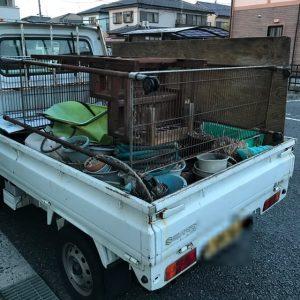 各務原市那加吾妻町で軽トラ1杯程度の不用品回収 施工事例紹介