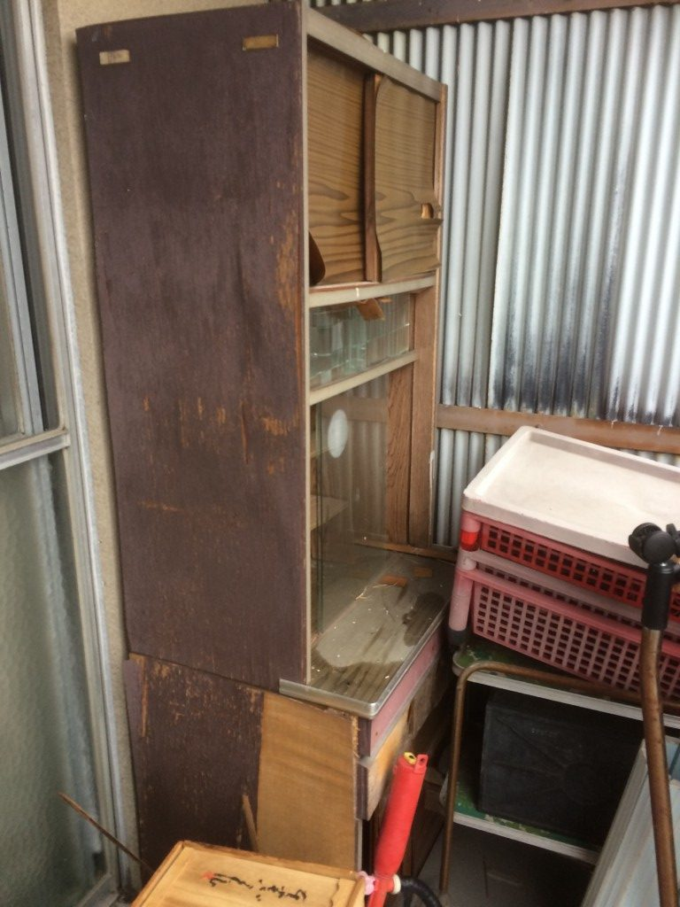 【岐阜市】冷蔵庫など2tトラック1台程度の不用品回収☆不用品を一気に処分することができ、とても満足していただきました!