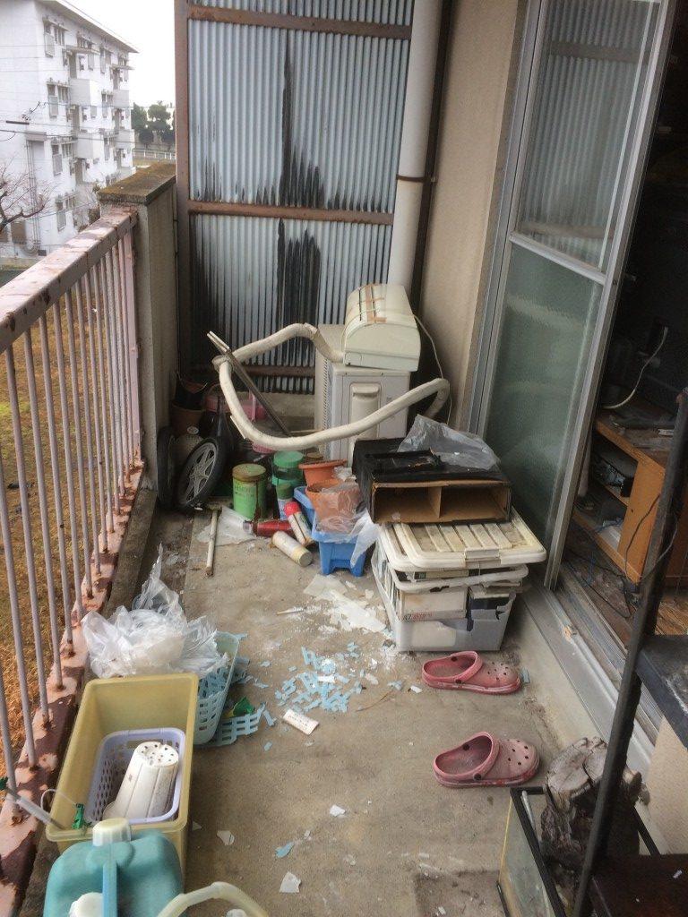 【輪之内町】冷蔵庫など2tトラック1台程度の不用品回収