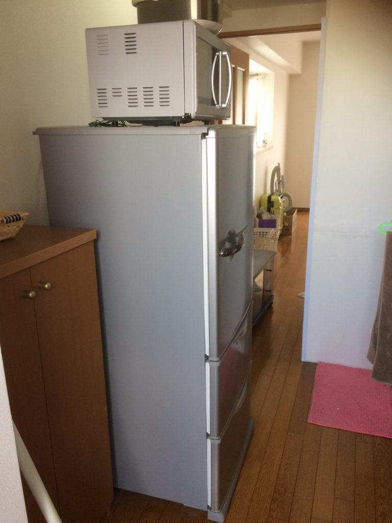【羽島市】遺品整理で冷蔵庫など軽トラック1台程度の不用品回収