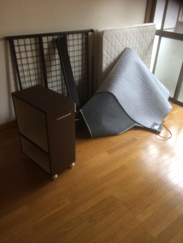 【関市】洗濯機、本棚などの回収 お客様の声