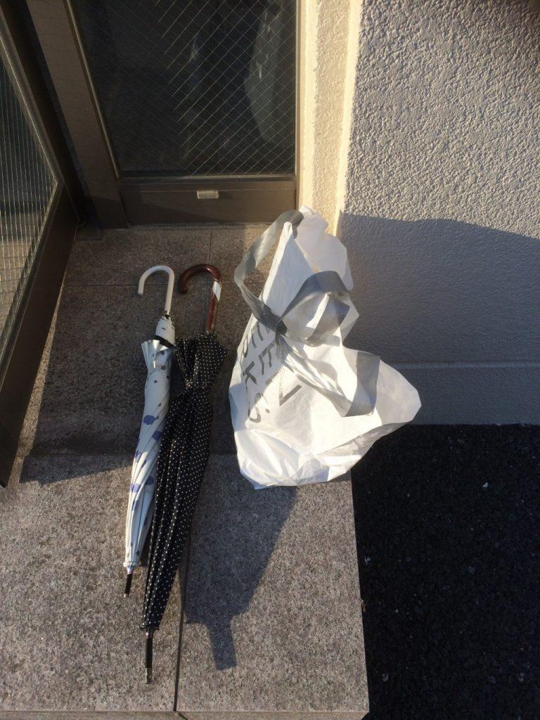 【海津市】傘と食器の回収
