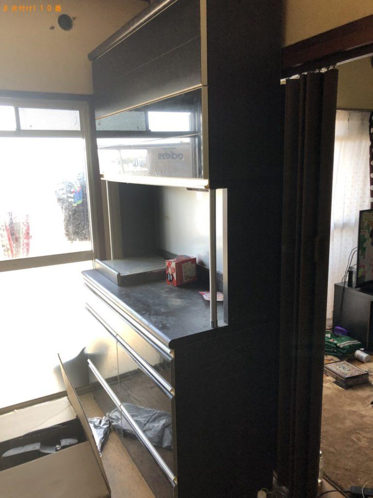 【恵那市】ソファー、棚、3段の収納ケース等の回収・処分ご依頼