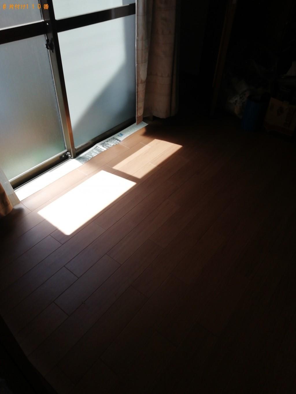 【中津川市】シングルベッド、ベッドマットレス、布団の回収・処分