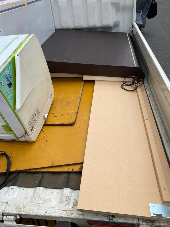 【岐阜市】引き出し収納付きシングルベッドの回収・処分ご依頼