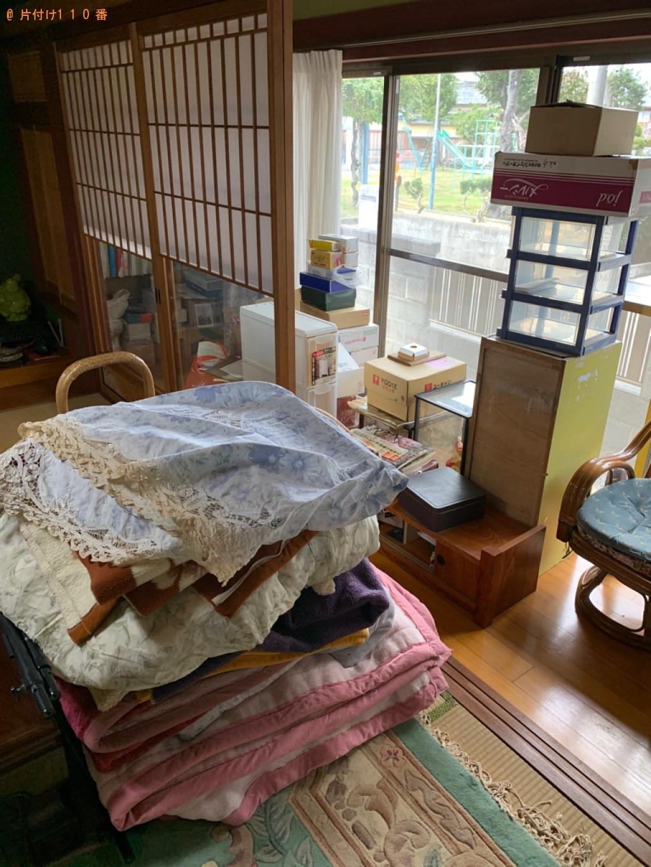 【岐阜市】人形、収納ケース、枕、ラジカセ、布団等の回収・処分
