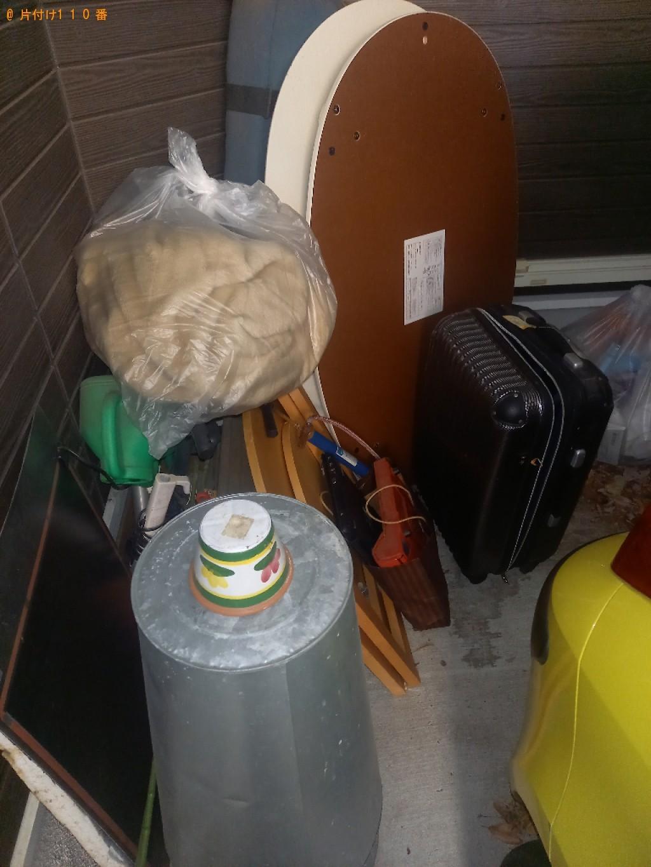【岐阜市】二人掛けソファー、スーツケース、家具、布団等の回収