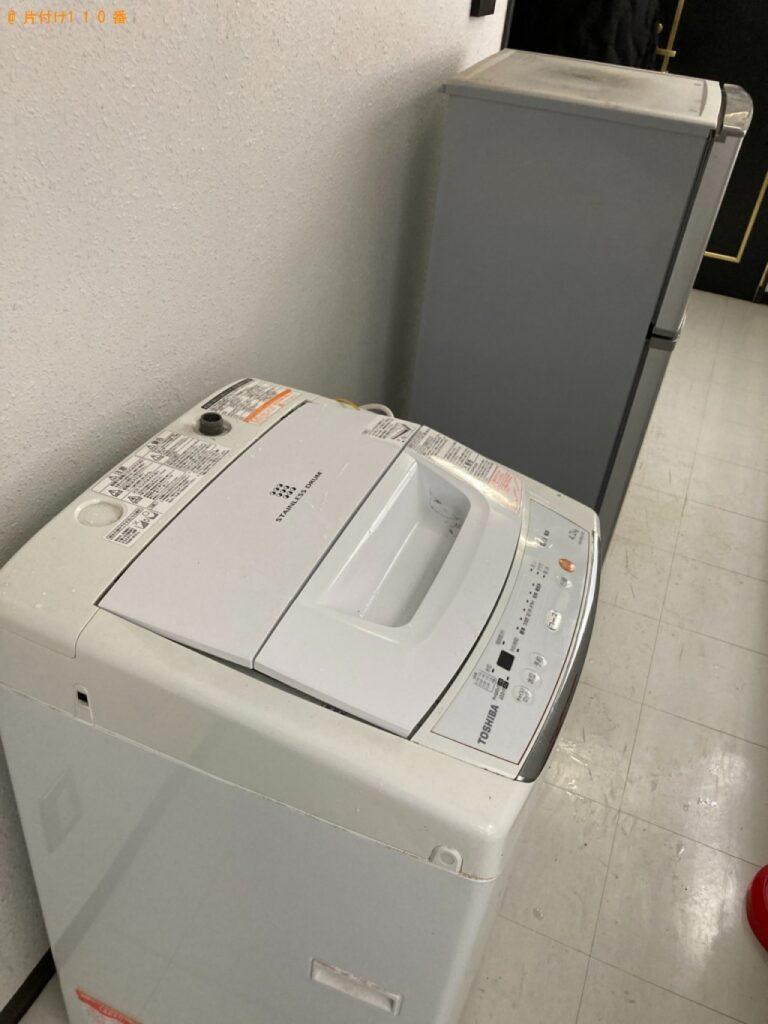 冷蔵庫、洗濯機、鞄掛け、ゴミ箱の回収・処分ご依頼