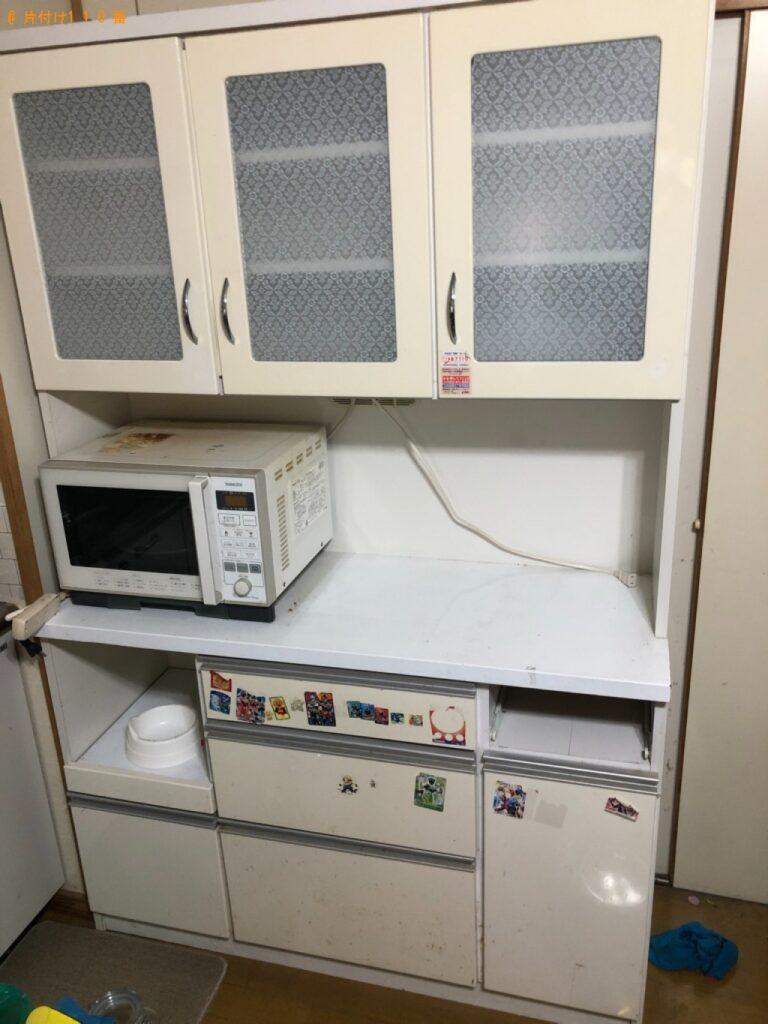 タンス、食器棚、二段ベッド、衣装ケース等の回収・処分