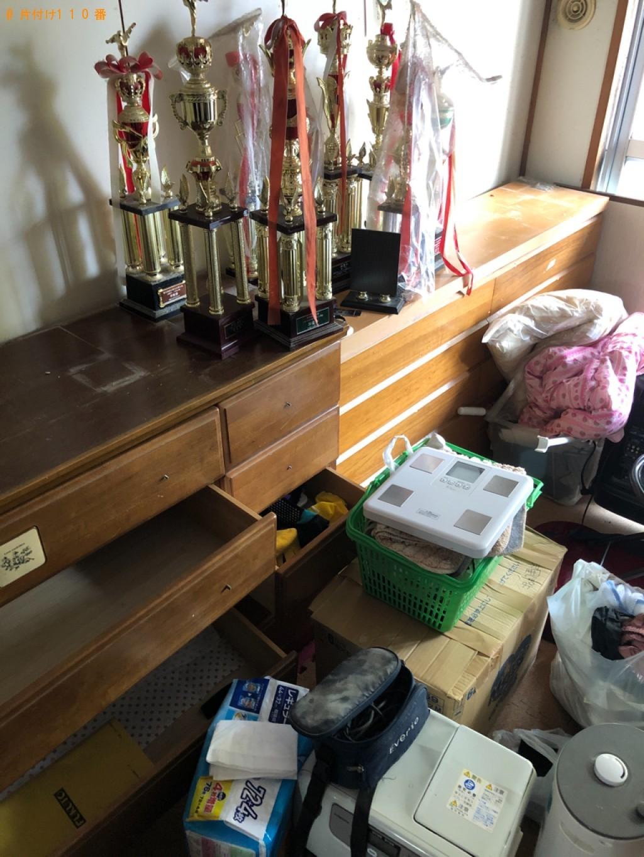 【岐阜市】タンス、食器棚、二段ベッド、衣装ケース等の回収・処分