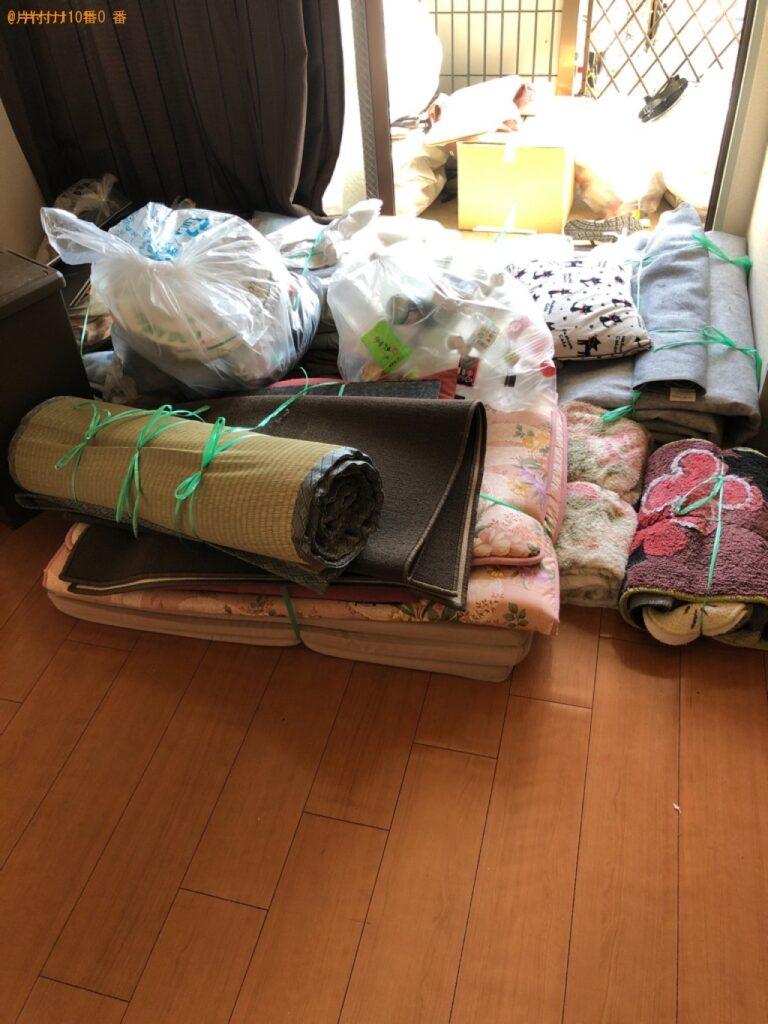 布団、ゴザ、一般ごみ等の回収・処分ご依頼 お客様の声