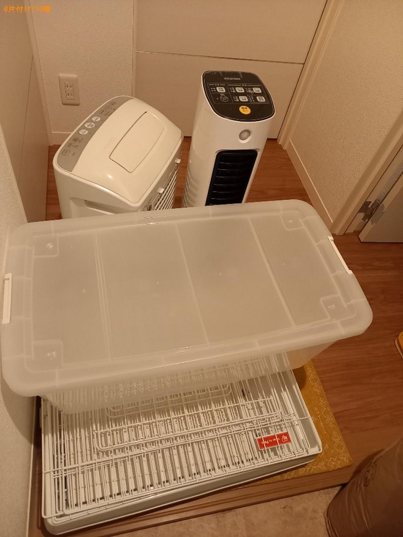 衣装ケース、空気清浄機、ヒーター等の回収・処分ご依頼 お客様の声
